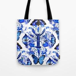 Ultramarine (pattern) Tote Bag