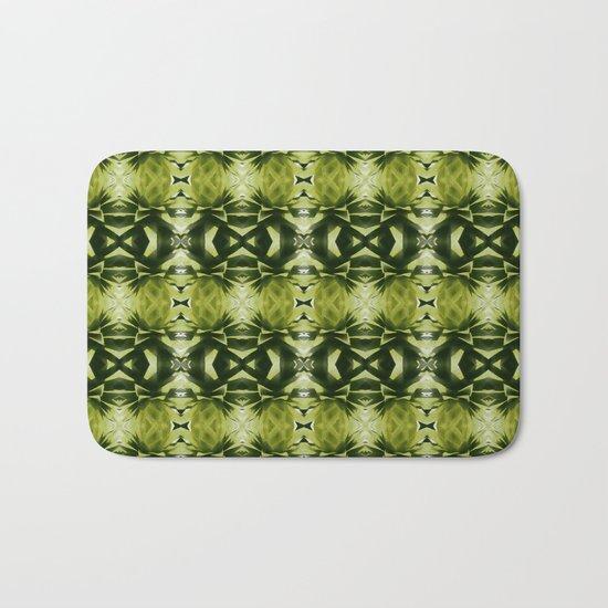 green, green, green Bath Mat