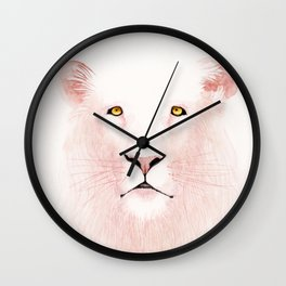 Unfinished Melancholy #5 Wall Clock