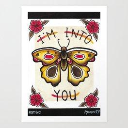 I'm Into You II Art Print