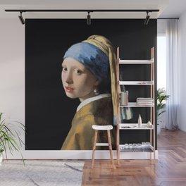 Girl with a Pearl Earring - Jonah Vermeer Wall Mural