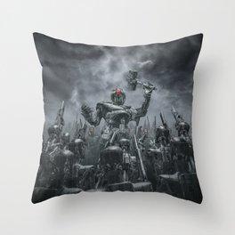 Once More Unto The Breach Throw Pillow