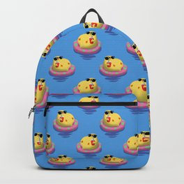 Chick on vacation Backpack