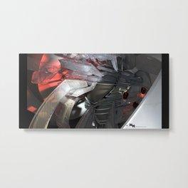 technocalyptictemple_02_color Metal Print
