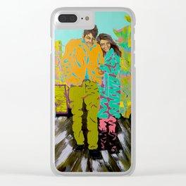 freewheeling Clear iPhone Case
