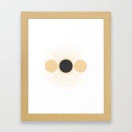 Total Eclipse Framed Art Print