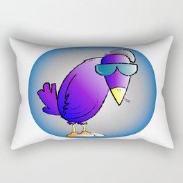 smokin' bird Rectangular Pillow