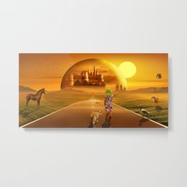 On the way to the fairyland Metal Print