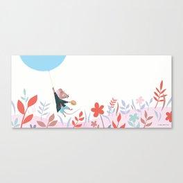Mouse Balloon Canvas Print