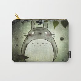 Totoro in the rain Carry-All Pouch