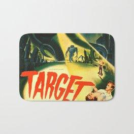 Vintage poster - Target Earth Bath Mat