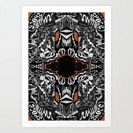 Space Rift Art Print