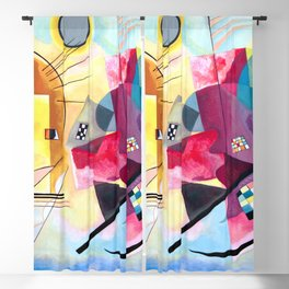 Wassily Kandinsky - Yellow Red Blue Blackout Curtain