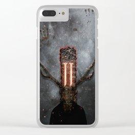 I am Sin Clear iPhone Case