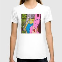 misfits T-shirts featuring LIZARD LADY and HER MERRY BAND of MISFITS by LEMONSQUARE