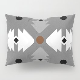 Modern Desert Fox Southwest Pattern Pillow Sham