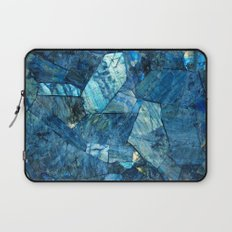 Labradorite Blue Laptop Sleeve