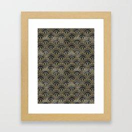 The Roaring Twenties Pattern Framed Art Print