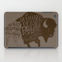 buffalo iPad Cases featuring Buffalo by Paul McCreery