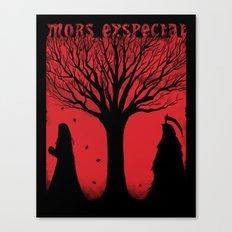 Mors Exspectat Canvas Print