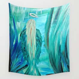 Angel Sea Thy Truth Wall Tapestry