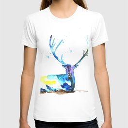 WATERCOLOR STAG PAINTING ORIGINAL T-shirt