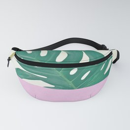 Monstera Dip Fanny Pack