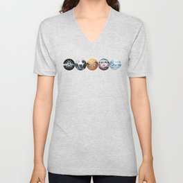 Five of Thirteen Alternate - The 100 Unisex V-Neck