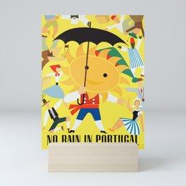 Vintage Travel Poster-Portugal Mini Art Print