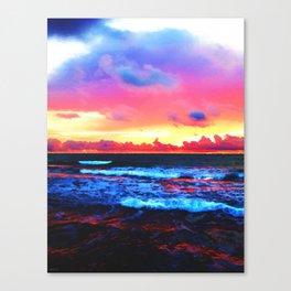 Scenic Shoreline Sunrise Canvas Print