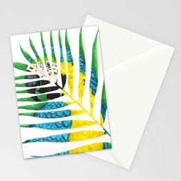 Parrot Palm Leaf Stationery Cards