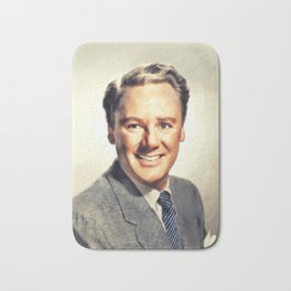 Van Johnson, Vintage Actor Bath Mat