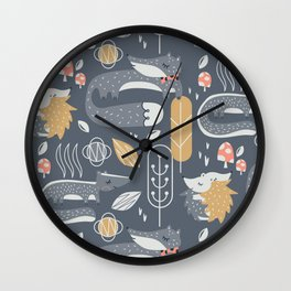 Forest Proper Wall Clock