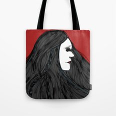 March of The Black Queen Tote Bag