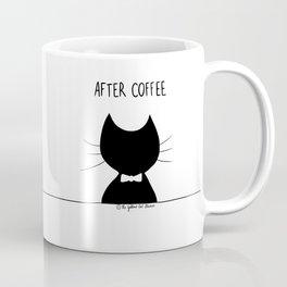 Before coffee - after coffee / Funny cat mug Coffee Mug