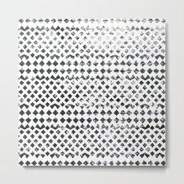 Glimmering Sea Water Mosaic Metal Print