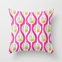 tennis Throw Pillows featuring tennis by ottomanbrim