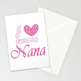 I love being NaNa Stationery Cards