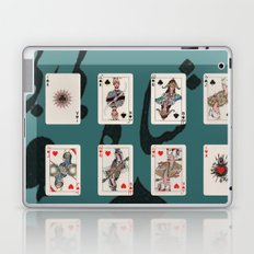Persian Playing Cards Laptop & iPad Skin