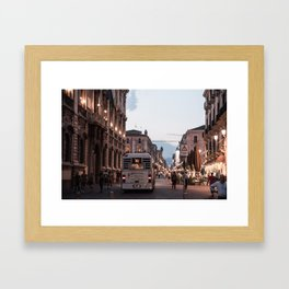 CATANIA 3 Framed Art Print