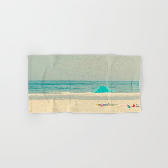 beach umbrella Hand & Bath Towel