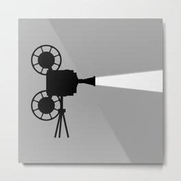 Movie Cine Projector Metal Print