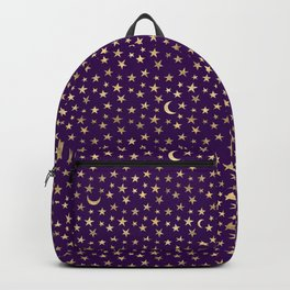 this is the story of a starry night. Backpack