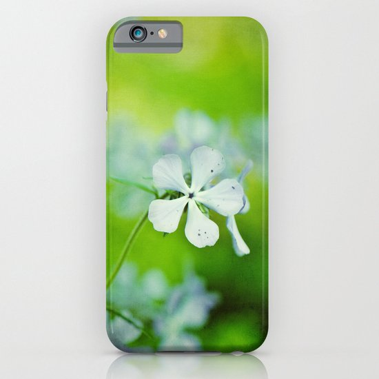 blue and green iPhone & iPod Case