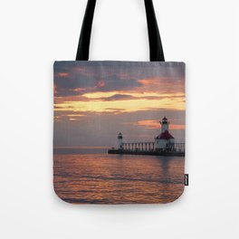 Lingering Light Tote Bag
