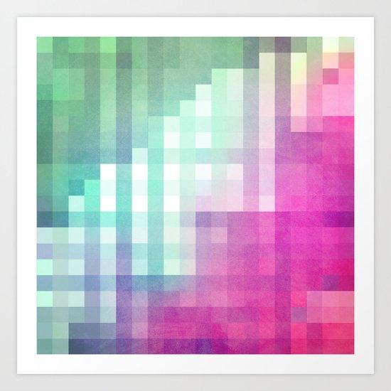 Pixel 3 Art Print