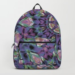 Abstract Flower AA YY QQQ Backpack