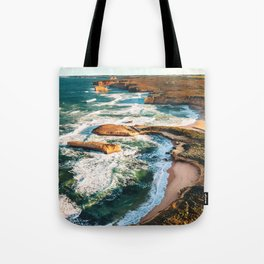 port campbell coastline in australia Tote Bag