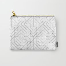 Geometric Camo Carry-All Pouch