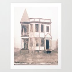 Detroit Abandoned House Art Print